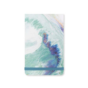 Teal Marbled Notepad