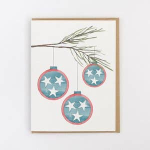 Greeting Card - Tennessee Christmas