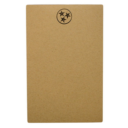 Oak&Ink Small Tristar Notepad