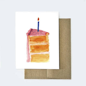 Greeting Card - Birthday Cake