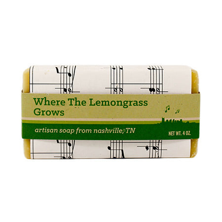 Where The Lemongrass Grows Soap Bar