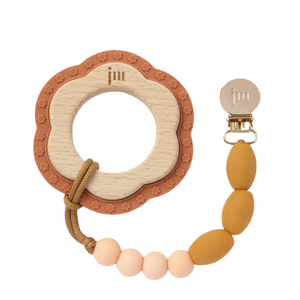 Teething Ring and Clip Set