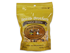 Brittle Brother's Peanut Brittle Bag