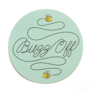 Buzz Off Sticker