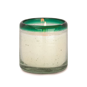 Cactus Flower and Bamboo Candle