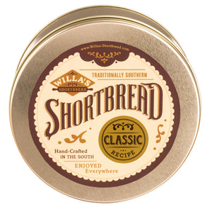 Willa's Shortbread Round Tin