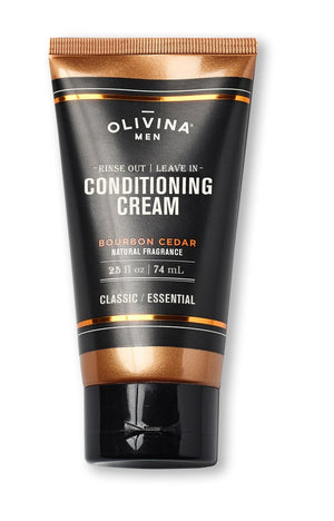 Travel Size Conditioning Shave Cream - Bourbon Cedar 2.5 oz