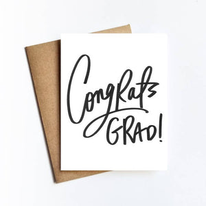 Greeting Card - Congrats Grad