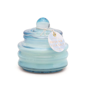 Fresh Air and Sea Salt Glass Candle