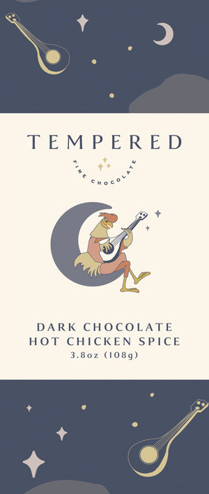 Dark Chocolate Hot Chicken Spice Bar
