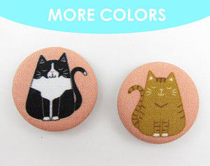 Fat Cat Magnets- set of 2
