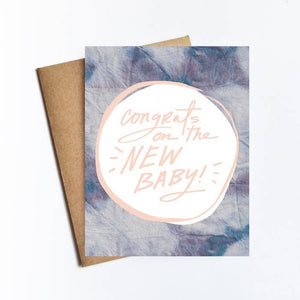 Greeting Card - Congrats on the New Baby