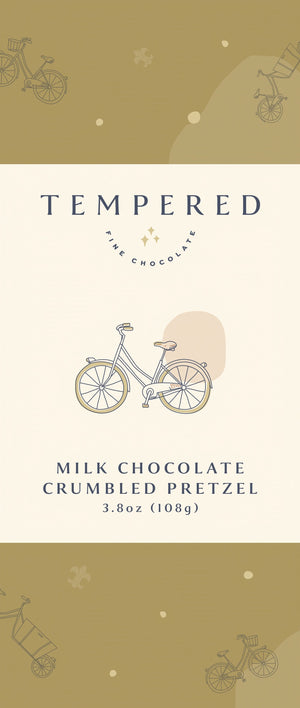 Milk Chocolate Crumbled Pretzel Bar