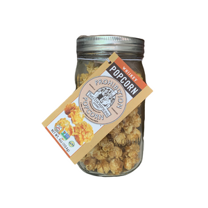 Prohibition Popcorn Mason Jar