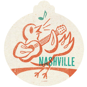 Songbird Nashville Ornament