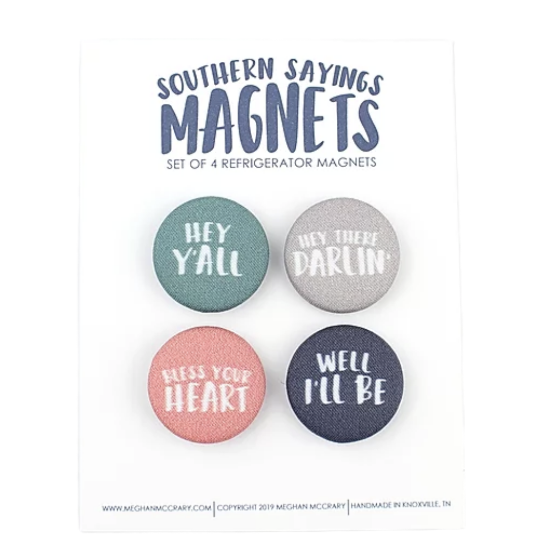 Southern Sayings Magnet- Set of 4