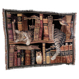 Frederick the Literate Woven Throw
