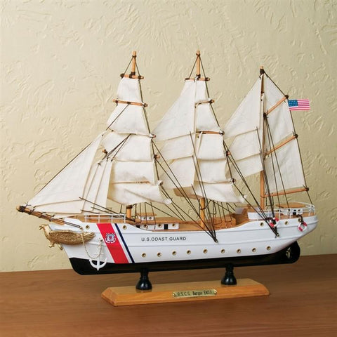 US Coast Guard Tall Ship 'Eagle' Music Box (NB)