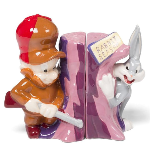 Elmer Fudd & Bugs Bunny Salt & Pepper Shakers