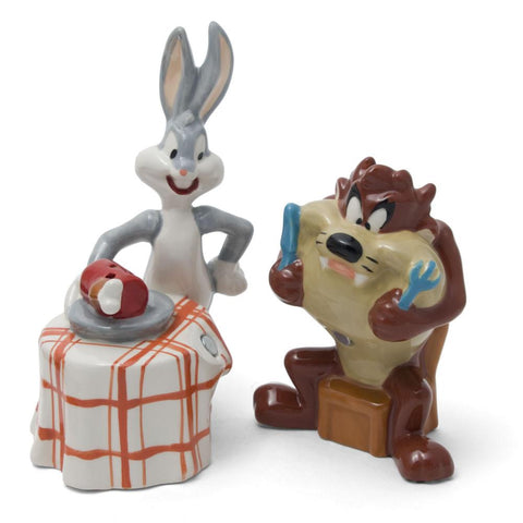 Bugs and Taz Salt & Pepper Shakers