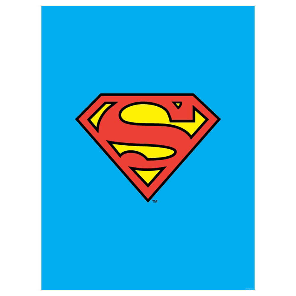 DC Comics Superman Shield Textile Poster