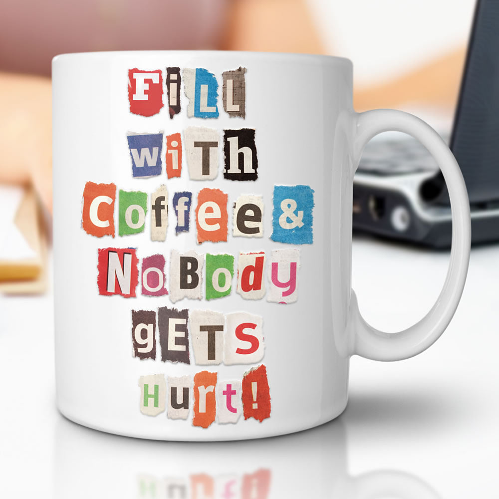 Make Your Own Ransom Note Mug