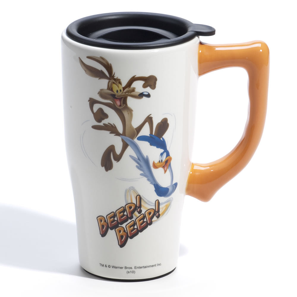 Roadrunner & Coyote Travel Mug