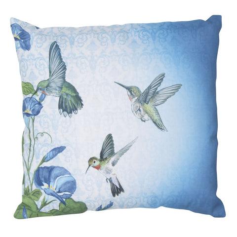 Climaweave Hummingbirds Pillow