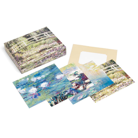 Waterlily Garden Notecards & Keepsake Box