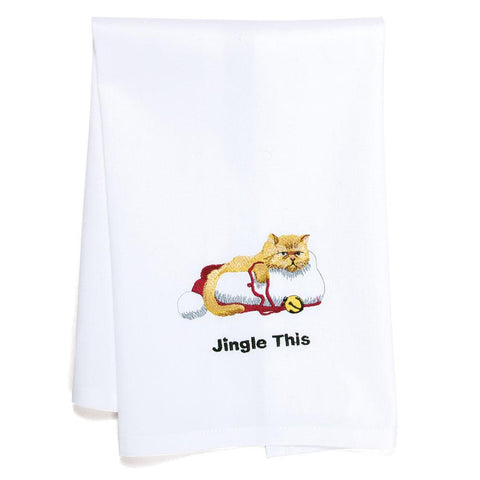 Jingle This Christmas Tea Towel