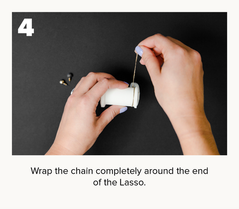 How to use Lasso jewelry storage