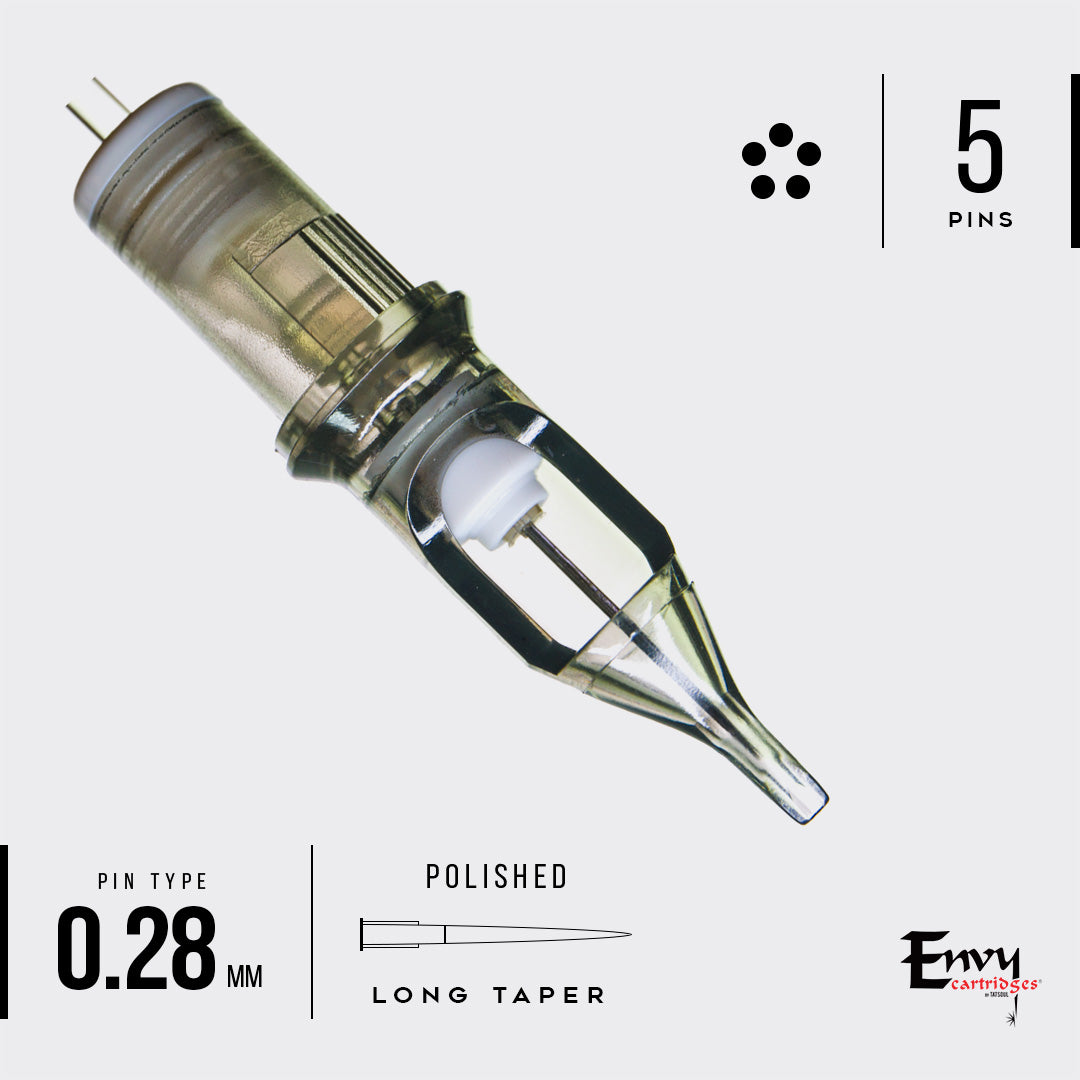 Envy Bugpin Cartridges