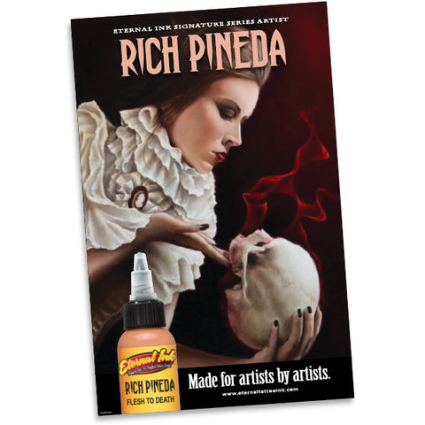 Eternal Ink Rich Pineda Poster