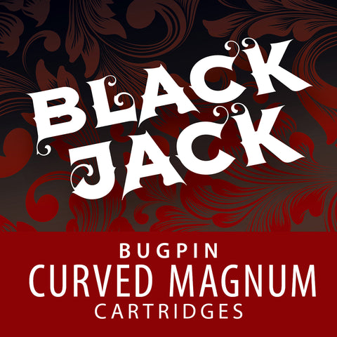 Black Jack Bugpin Curved Magnum Cartridge Needles