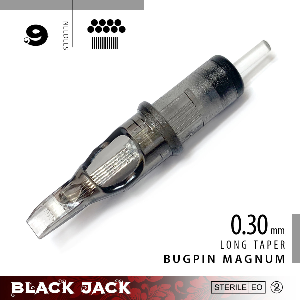 Black Jack Bugpin Magnum Cartridge Needles