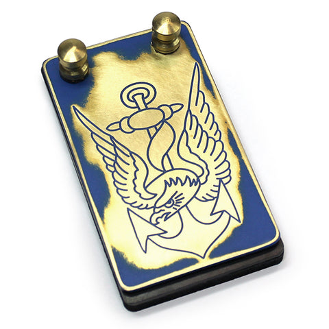 Eternal Custom Brass Foot Switch- Eagle