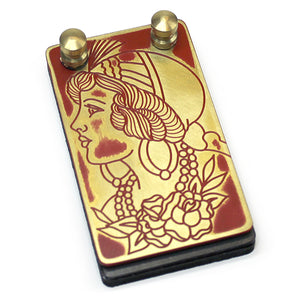 Eternal Custom Brass Foot Switch- Gypsy