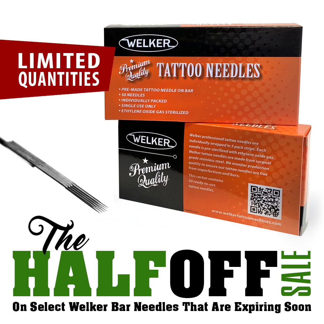 HALF OFF Welker Needles