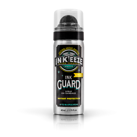 INK-EEZE Ink Guard Spray On Bandage