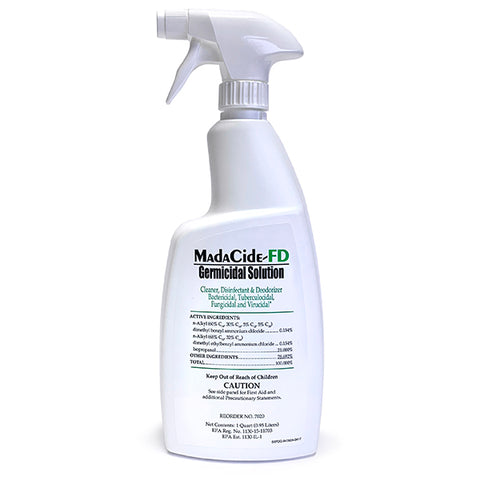 Mada-Cide Spray Germicidal Solution