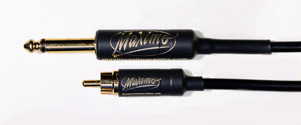 Maximo Straight RCA Cable