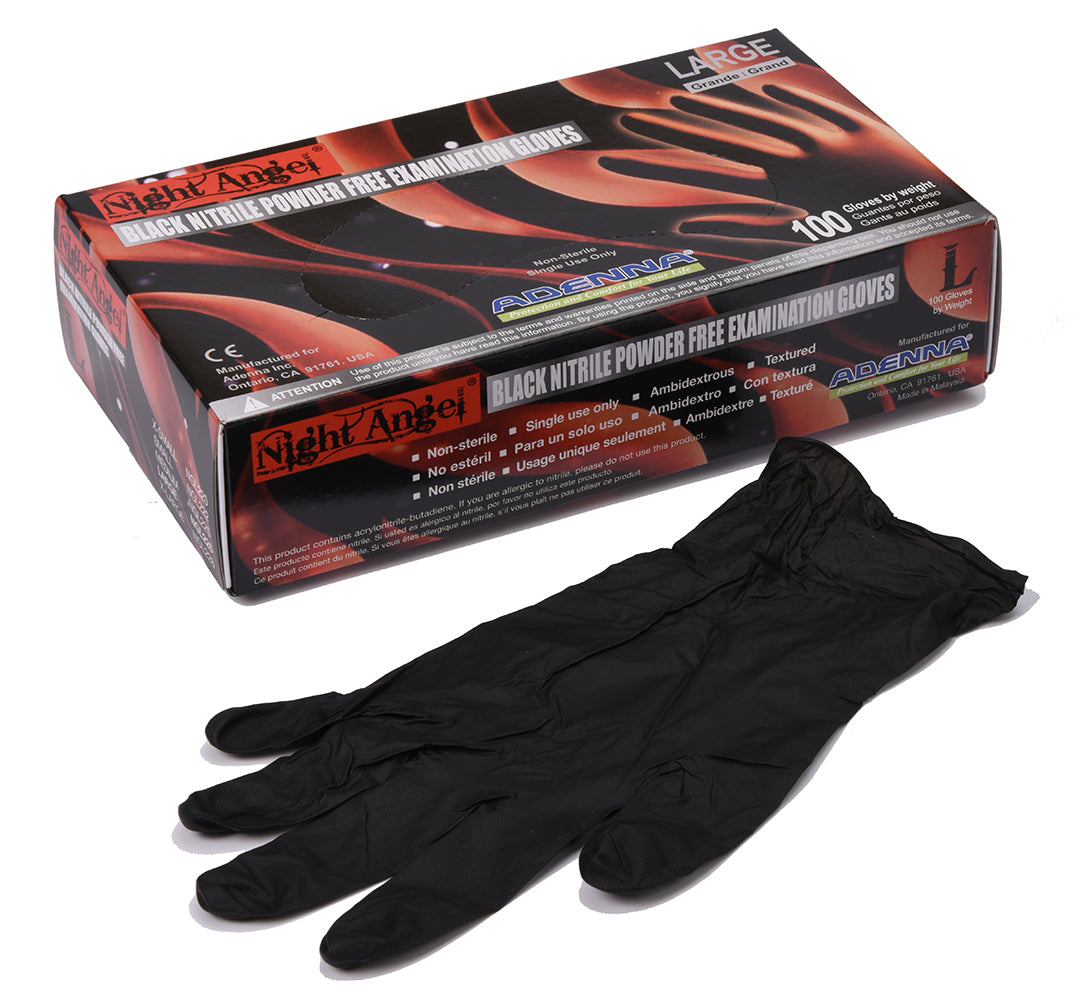 Night Angel Nitrile Gloves