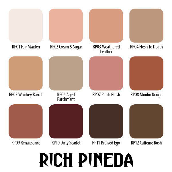 Rich Pineda Flesh to Death Set