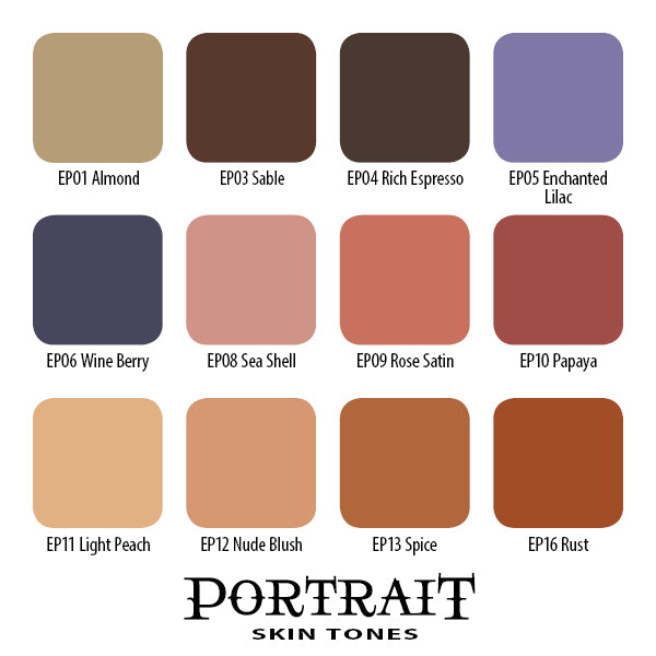 Portrait Skin Tones Set