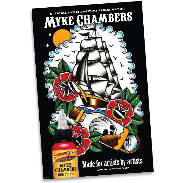 Eternal Ink Myke Chambers Poster