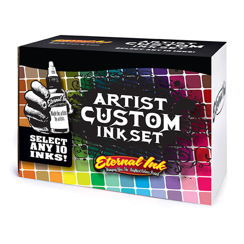 Artist Custom Ink Set