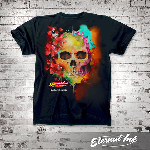 Eternal Ink Nestor Skull Tshirt