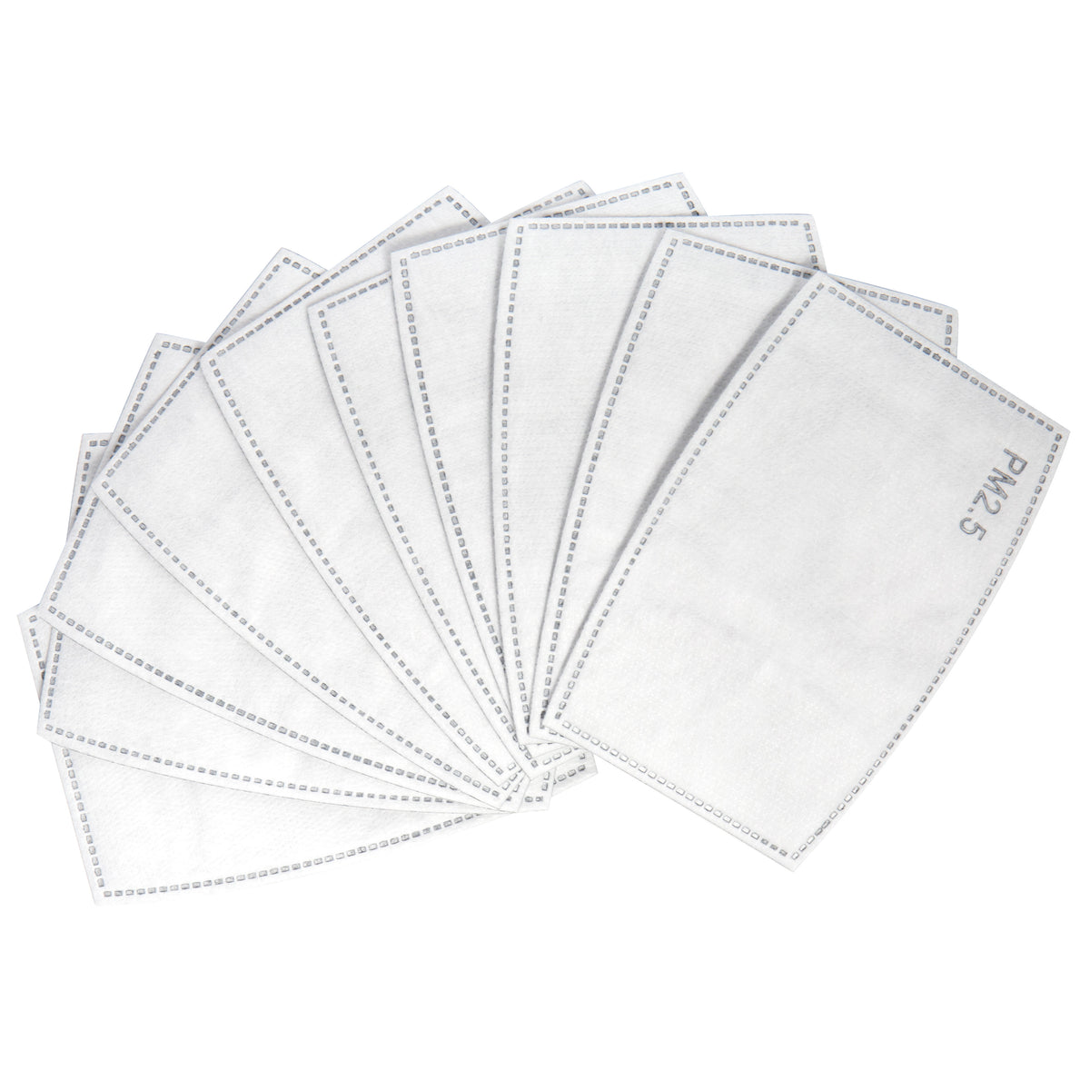 Jet Black Filter Replacements for Artist Masks - 10 pcs