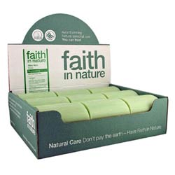 Faith in Nature Unwrapped Soap 100g 18 bars