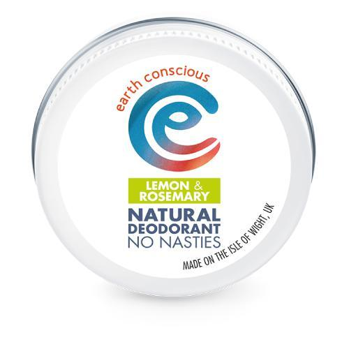 Earth Conscious Lemon & Rosemary Deodorant 60g-Deodorant-Wild Earth Beauty